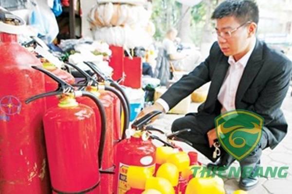 Mua bình cứu hỏa ở đâu tại Hà Nội