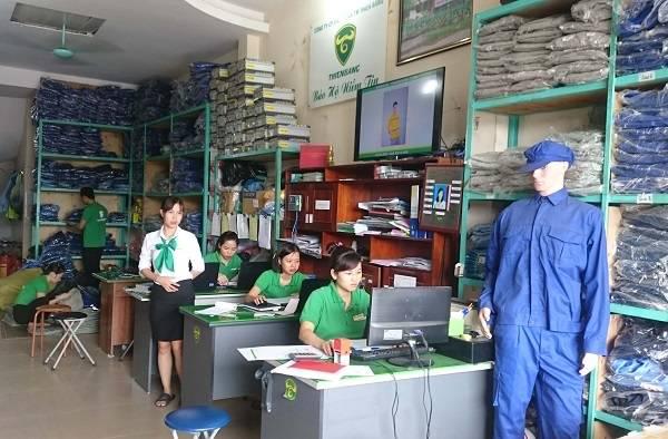 cửa hàng bảo hộ lao động