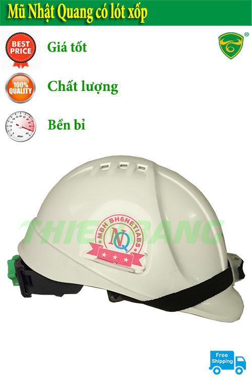 Mũ bảo hộ lao động Nhật Quang