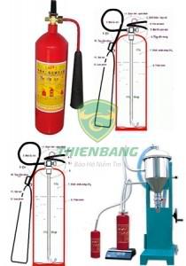 Nạp bình chữa cháy CO2 tại Hà Nội