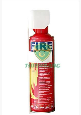 bình chữa cháy dễ phát nổ trong ô tô khi trời nắng