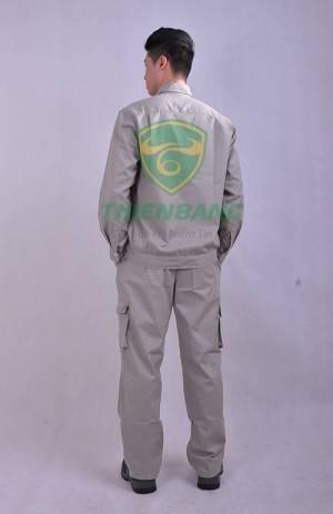 Quần áo bảo hộ TB01 mẫu 2