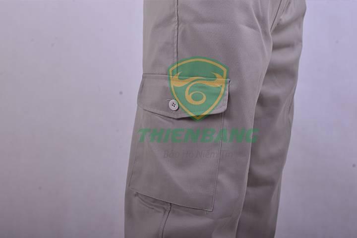 quần áo kỹ sư mẫu 1 có túi hộp