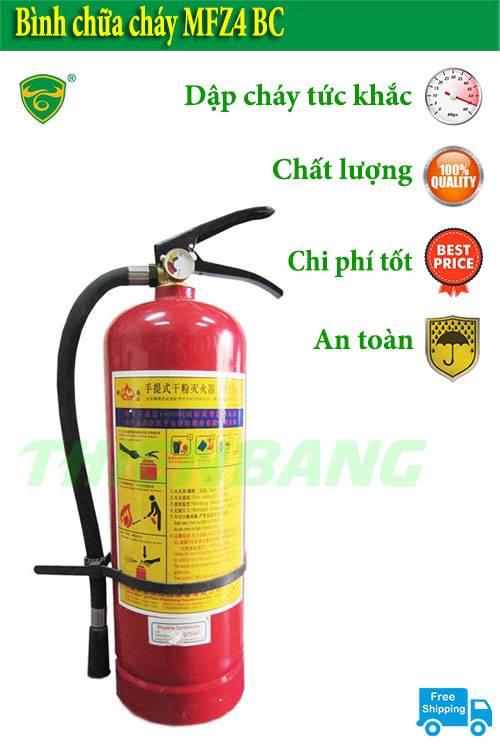 An Toàn Cháy Nổ Với Bình Chữa Cháy MFZ4 Giá Rẻ Tại Hà Nội