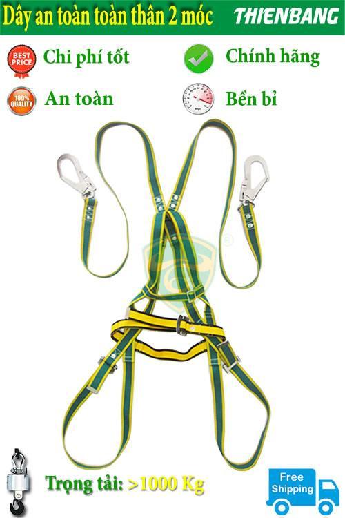 dây đai an toàn toàn thân móc to