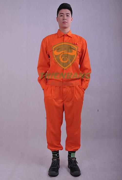 Quần áo bảo hộ điện lực-Mặt trước