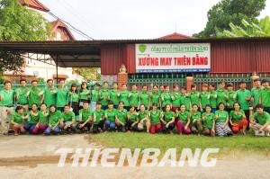 Xuong may Thien Bang nhan may dong phuc bao ho tai Quang Nam