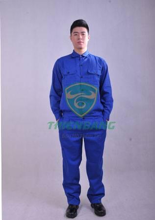 Quần áo công nhân màu xanh