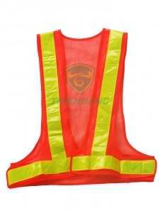 Áo lưới phản quang đỏ