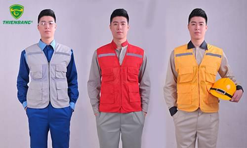 quần áo bảo hộ lao đông - áo phản quang gile
