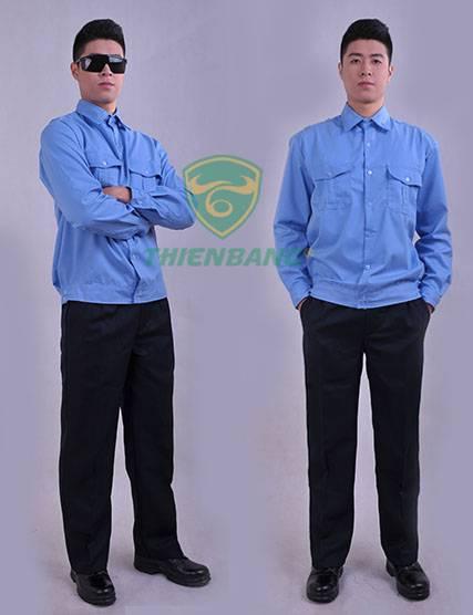 đồng phục bảo vệ dài tay