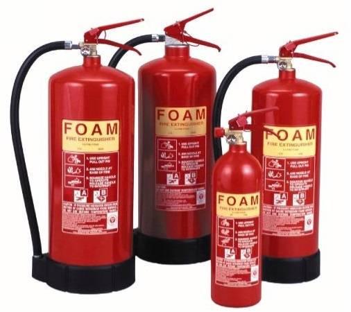 mechanical foam type fire