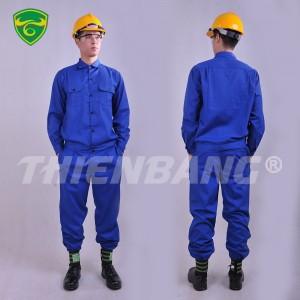 Quần áo bảo hộ lao động xanh dương