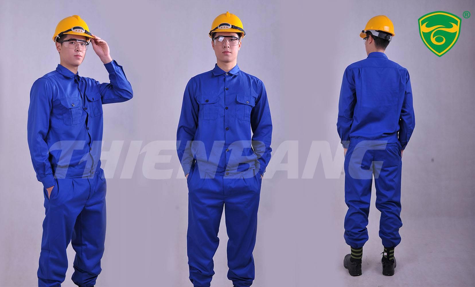 đồng phục công nhân môi trường