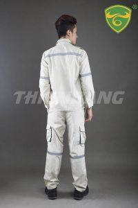 Quần áo bảo hộ theo mẫu pq