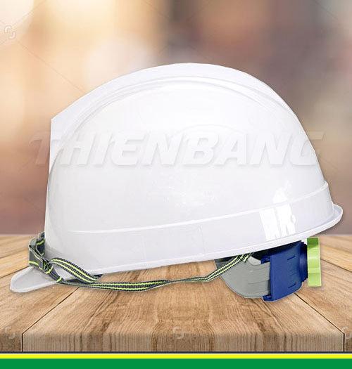 mũ bảo hộ lao động Nhật Quang trắng
