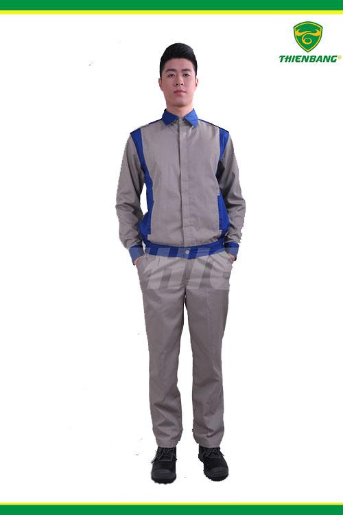 Quần áo công nhân cơ khí TB05
