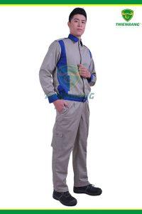 Quần áo công nhân TB05