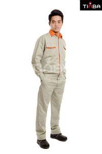 Quần áo công nhân Tinba 04