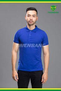 đồng phục áo phông xanh nước biển