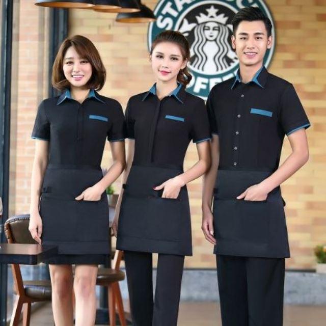 Đồng phục nhân viên quán cafe