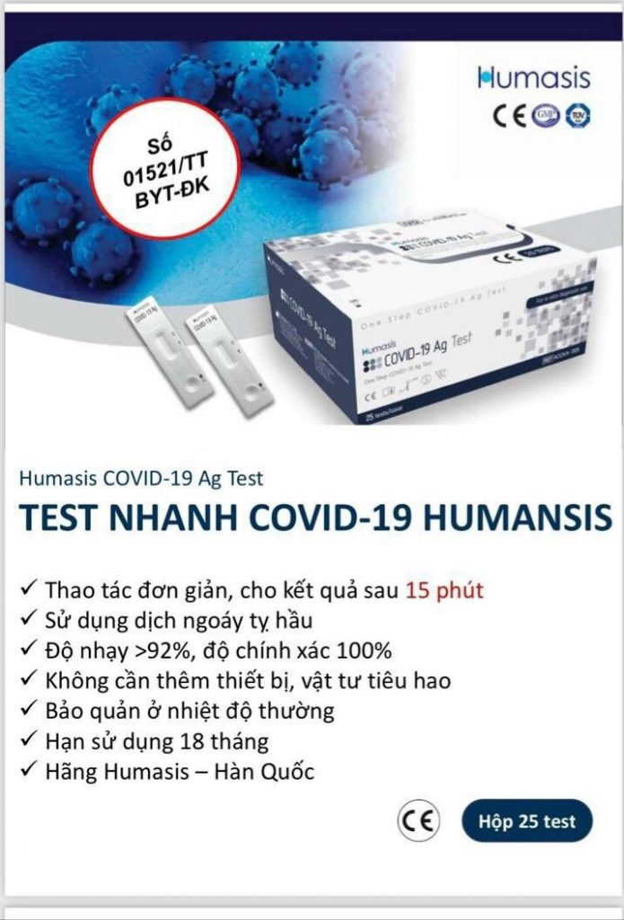 que-test-covid-han-quoc-humasis